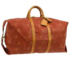 AUTHENTIC LOUIS VUITTON CUP KABUL 95'S TRAVEL HAND BAG RED M80020 AK19378