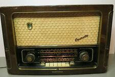 Telefunken German Tube Radio Operette 6 Hi-Fi System Works