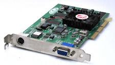 ATI R6 SD32M Rage 6 Grafikkarte Grafik 32MB 32 MB AGP TV-Out Svideo VGA DSUB