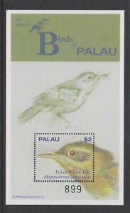 Palau - 1999, Birds, palau Whiteye sheet - MNH - SG MS1623a