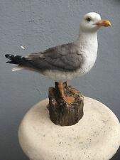 Seagull Figure Sea Gull Statue Outdoor Seagull Sculpture Bathroom Nautical