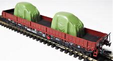 TT 1 : 120 BUSCH Flachwagen Maschinentransport Samm 4818 DR Ep.IV braun # 31166