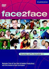 Face2face Elementary and Pre-Intermediate, New DVDs