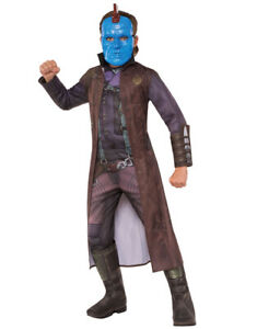 Kids Yondu Muscle Chest Deluxe Costume L Age 8-10 Height 142-152 cm