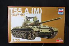 YC045 ESCI 1/35 maquette tank char 5045 T55 A (M) Soviet Tank NB