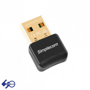 Simplecom NB409 USB Bluetooth 5.0 Adapter with A2DP EDR Wireless Dongle