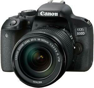 Canon EOS 800D Kit 18-135 mm IS STM