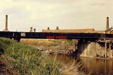 PHOTO  1968 BLACK BRIDGE BRIDGWATER THE TELESCOPIC OR BLACK BRIDGE CROSSING THE