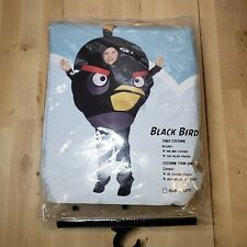 Angry Birds Black Bird Childs Costume Halloween Onse Size Fits Most