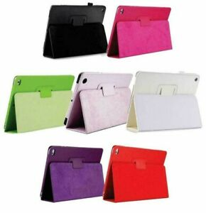 Apple iPad Air, 9.7 2017 / 2018 Air 2 Leather Tablet Smart Stand Flip Cover Case