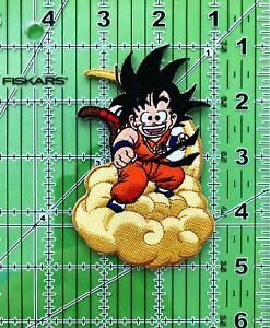 """4"""" Kid Goku Iron on/Sew on Patch, DBZ Patch, Dragon Ball Z Cool Patch"""