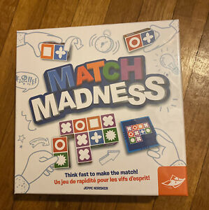 New - FoxMind Games Match Madness - Ages 7+   1-4 players