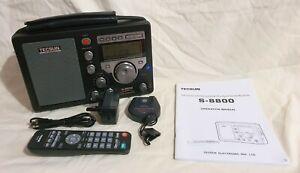 TECSUN S-8800 AM/FM/LW/SW Digital PLL Tuner with Remote Control