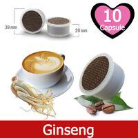 10 Capsule Caffè Kickkick al Ginseng Cialde Compatibili LAVAZZA ESPRESSO POINT