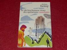 [BIBLIOTHEQUE H.& P-J.OSWALD] JEROME LEROY / OPERATIONS CANNIBALES Signé! Poésie