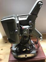 vintage keystone 109S projector; working light; 8mm