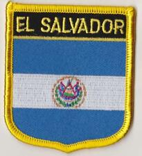 El Salvador Country Flag Embroidered Patch T7
