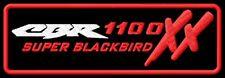 Honda CBR 1100XX Super BlackBird Black Bird iron-on Aufnäher patch
