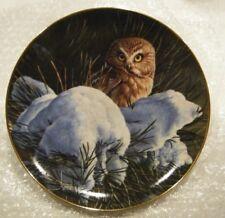 Snowy Dawn-The Owls of North America-The Danbury Mint-No B3703-1994-Nwob