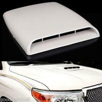 Car SUV Pickup Decorative Simulation 3D Air Flow Intake Front Hood Scoop Vent