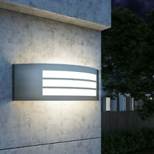 Outdoor Wall Light Stainless Steel Lamp with PC Diffuser Garden Patio Lighting