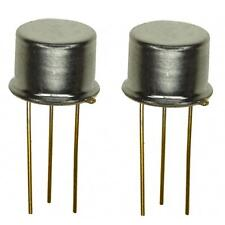 2X 2N3773 NPN Transistor de conmutación de alta potencia amplificador y paquete de 2