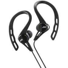 Jvc HAECX20/BLACK Comfortable Sweat & Splash Proof In Ear Sports Headphones