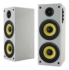 Thonet and Vander Hoch Bt 350 Watts Wood Hi-Fi Bluetooth 4.0 Speakers with 3.5mm