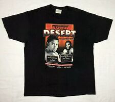 Vtg Floyd Mayweather Jr Vs Goyo Vargas Oscar De La Hoya Mens T-Shirt XL Black