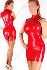 009 Latex Rubber Gummi Dress one piece cheongsam skirt fitted customized 0.4mm