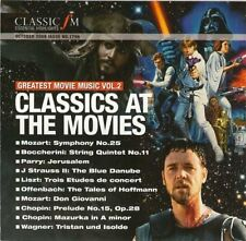 GREATEST MOVIE MUSIC VOL 2: CLASSICS AT THE MOVIES - CLASSIC FM CD (2009)