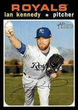 2020 Topps Heritage #213 Ian Kennedy - Kansas City Royals