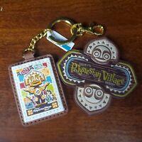 Disney Polynesian Village Resort Logo Tiki Resin Magnet & Keychain Luggage Tag