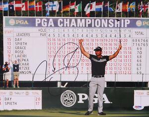 Jason Day  Hand Signed PGA Championship11 x 14 Glossy PGA Pro