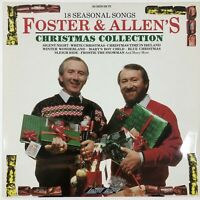 Foster and Allen - Christmas Collection - VINYL LP Record 1989 Near Mint