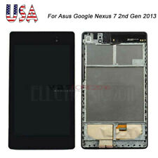 For Asus Google Nexus 7 2nd Gen 2013 LCD Digitizer Touch Screen with Frame AAA+
