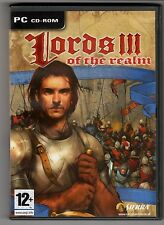 (GW117) Lords Of The Realm III - 2004 Game CD