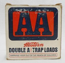 Western 12 Gauge Aa Trap Loads Empty Ammo Box