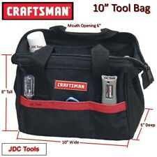 """Craftsman 10"""" Tool Bag Pouch Carrying Storage Case Tote 12 13 16"""