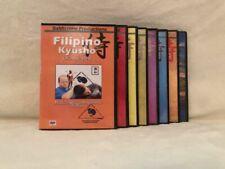 Filipino Kyusho (10) Dvd Set karambit dumog pressure points stick drills hubad