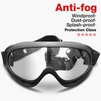 ROCKBROS Eyes Protective Glasses Anti-Wind Anti-dust Proof Safety Goggles Black