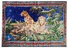 Vintage carpet Carpet with lions USSR Carpet Carpet for the wall Russian carpet