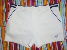 vintage KINGSFORD Tennis Shorts oldschool 80er sport Sporthose weiß 52 UK42 M