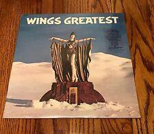 PAUL MCCARTNEY WINGS GREATEST ORIGINAL LP STILL SEALED WITH HYPE STICKER ~1978
