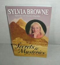 SYLVIA BROWNE SECRETS & MYSTERIES OF THE WORLD SIGNED