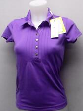 New Ladies XS Daily Sports Lupine polyester golf polo shirt