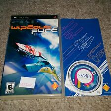 WIPEOUT PURE   - Rare Sony PSP Game