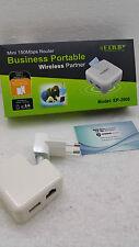 ROUTER WIRELESS LAN 11N 150 MBPS ACCESS POINT EDUP EP-2908 WIFI portatile router