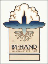 "GOINES, David Lance ORIGINAL POSTER #44, ""BY HAND"""