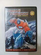 TRANSFORMERS GENERACION 1 EPISODIOS 1 AL 4 EDICION RESTAURADA DVD G1 JAVITRON